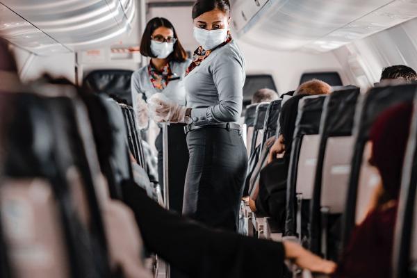 Wynajem samolotów a bezpieczeństwo COVID19